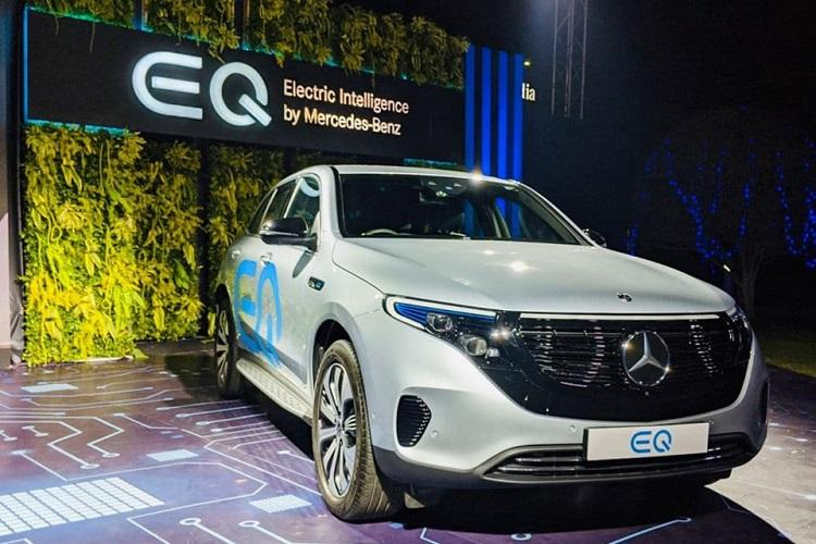Mercedes-Benz forays into electric vehicle space in India with launch of its EQ brand