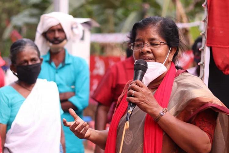 Minister Mercykutty Amma