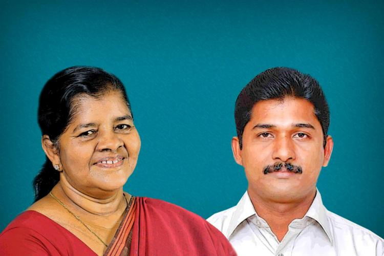 CPIM candidates who lost Mercykutty Amma and M Swaraj