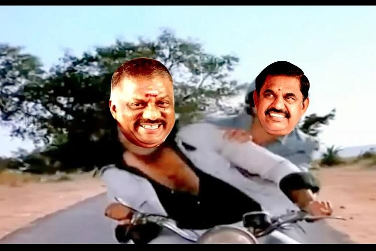 Tamil Nadu documents the EPS OPS POES drama in memes