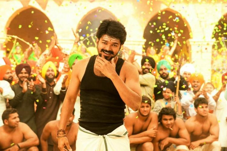 Actor Vijay thanks those who supported him when Mersal faced opposition