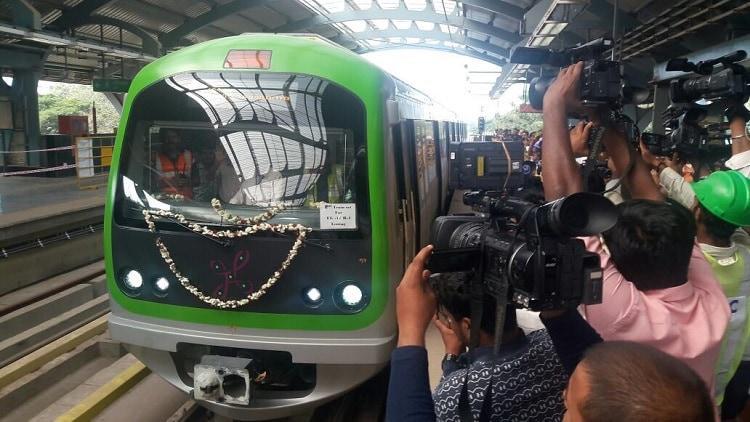 Trial run for Namma Metros second line begins