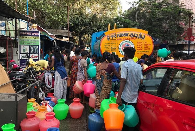 How Chennais residents have been brought to their knees by the severe water crisis
