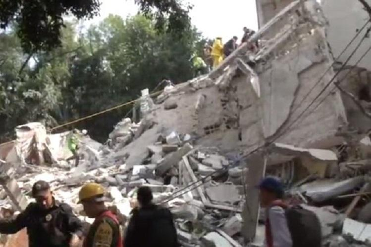 At least 149 killed after powerful earthquake rocks Mexico City