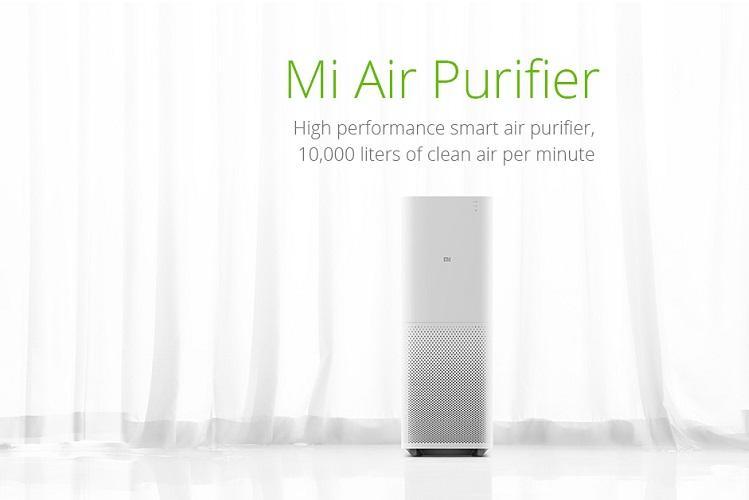 Xiaomi unveils Air Purifier 2 Mi Band 2 in India
