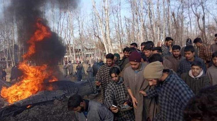 IAF chopper crashes in Budgam six on board killed