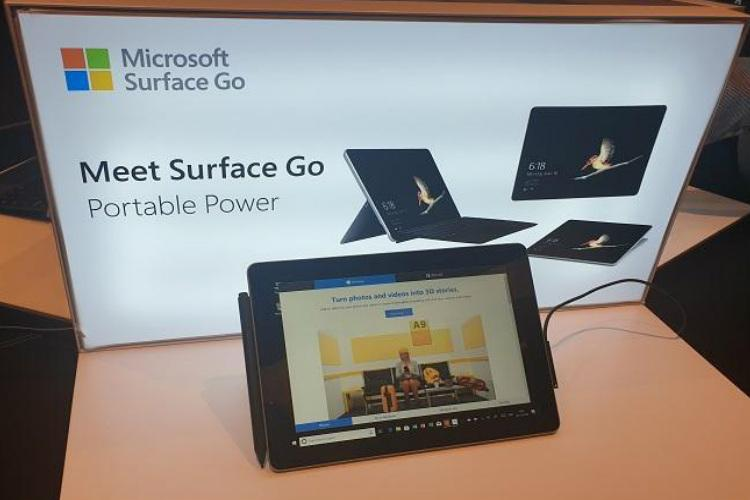 Microsoft Surface Go starts shipping in India through Flipkart