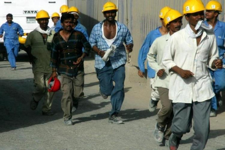 87 of Indian-worker exploitation complaints From Gulf nations