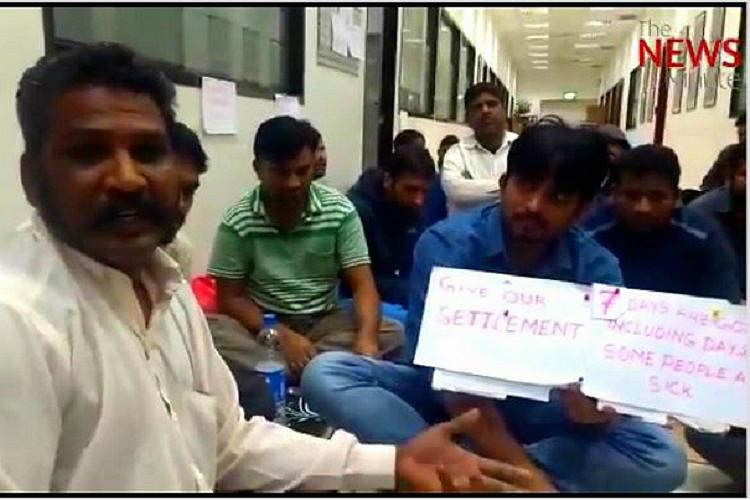 Should we commit suicide 3000 Indian workers stuck in Kuwait without food money
