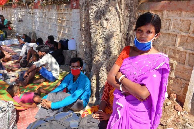 Migrant workers amid the coronavirus pandemic in India