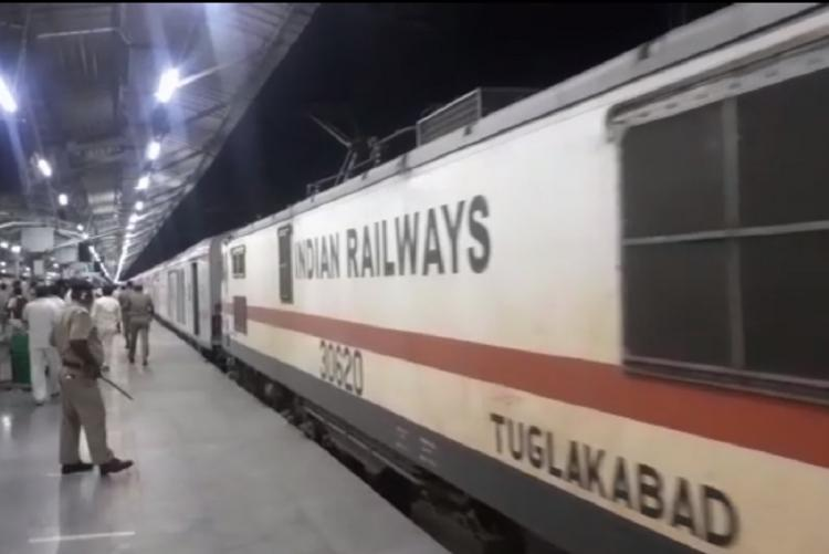 First Rajdhani special train arrives in Chennai with 800 passengers from Delhi