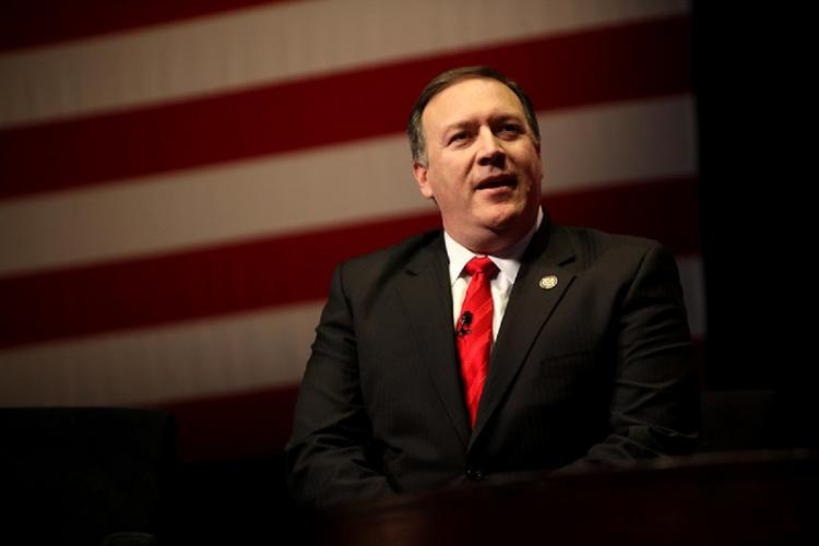 US secy of state Mike Pompeo