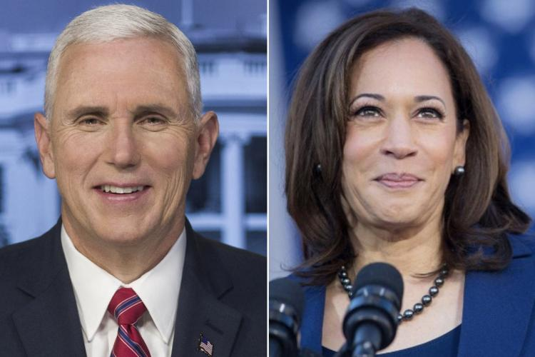 Mike Pence and Kamala Harris will face-off in a vice-presidential debate