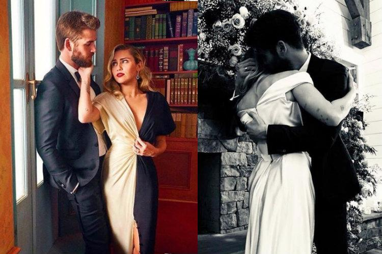 Singer Miley Cyrus marries actor Liam Hemsworth in an intimate ceremony
