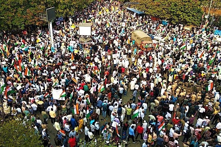 Awaaz do hum ek hain A ground report from Hyds million march against CAA and NRC