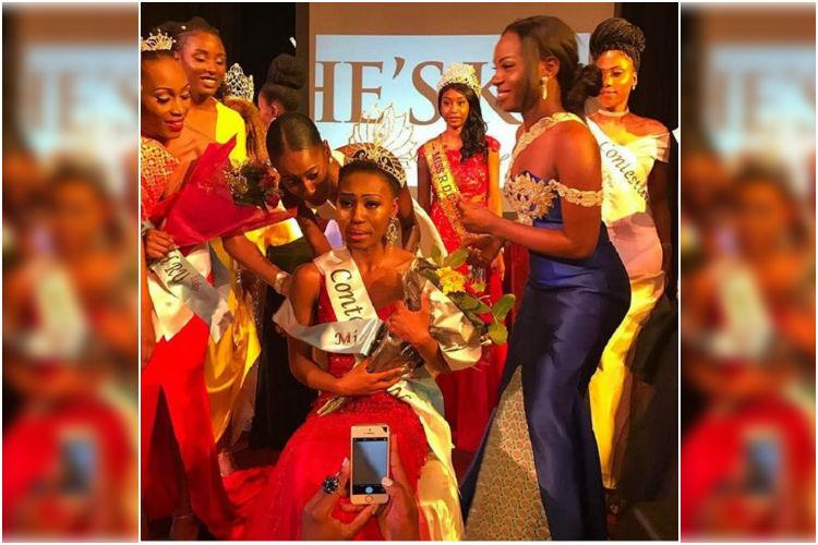 Positive and beautiful Meet Horcelie a 22 year old woman with HIV who won Miss Congo UK 2017