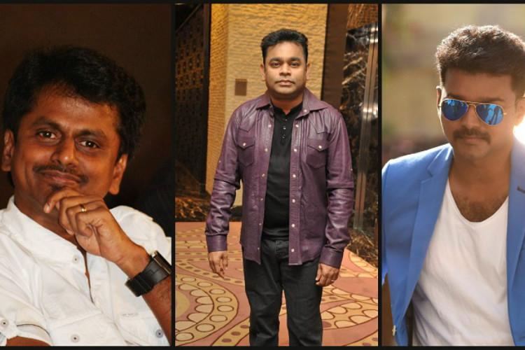 After Mersal AR Rahman may join hands with Vijay for Murugadoss film