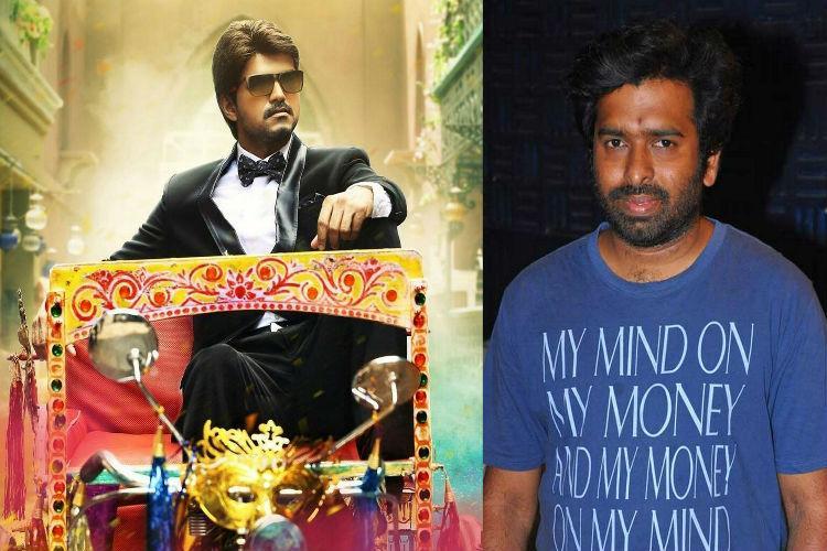 Vijay has sung incredibly well in Bairavaa Santhosh Narayanan