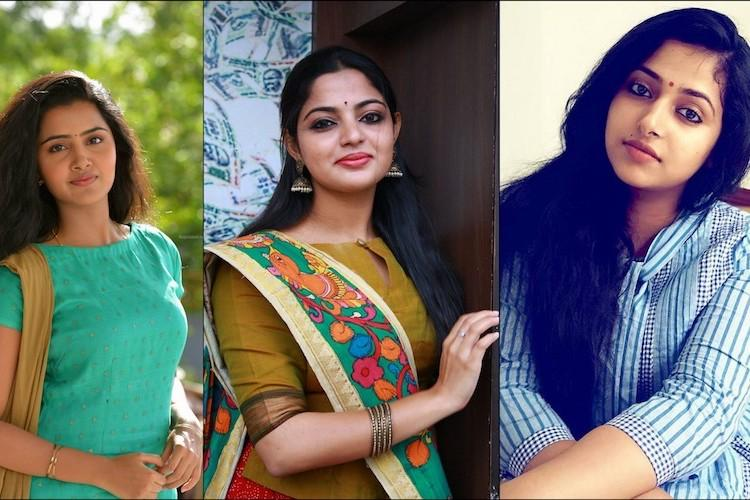 Anupama Parameswaran Nikhila Vimal and Anu Sithara in Dulquers film