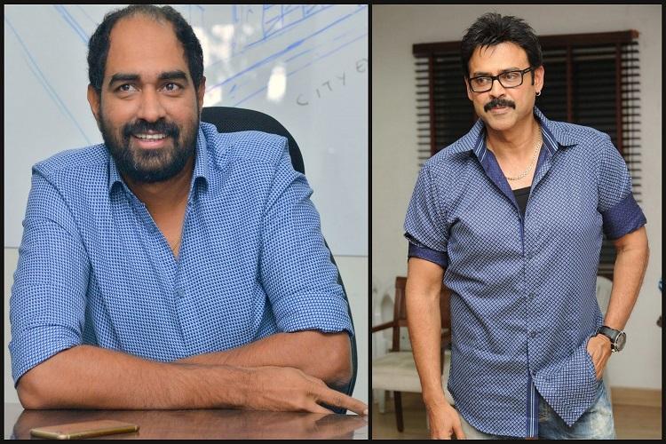 After directing Balakrishnas 150th film director Krish to direct Venkateshs 75th film