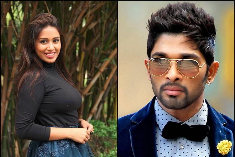 Nivetha Pethuraj to play Allu Arjuns sister in Trivikram directorial