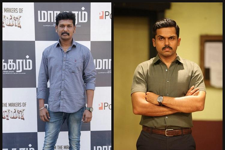 Maanagaram director yet to finalise Karthi for his next project