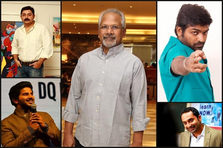 Vijay Sethupathi Arvind Swami Fahadh and Dulquer in Mani Ratnams next