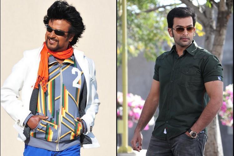 Prithviraj reveals that he got an offer to direct Rajinikanth