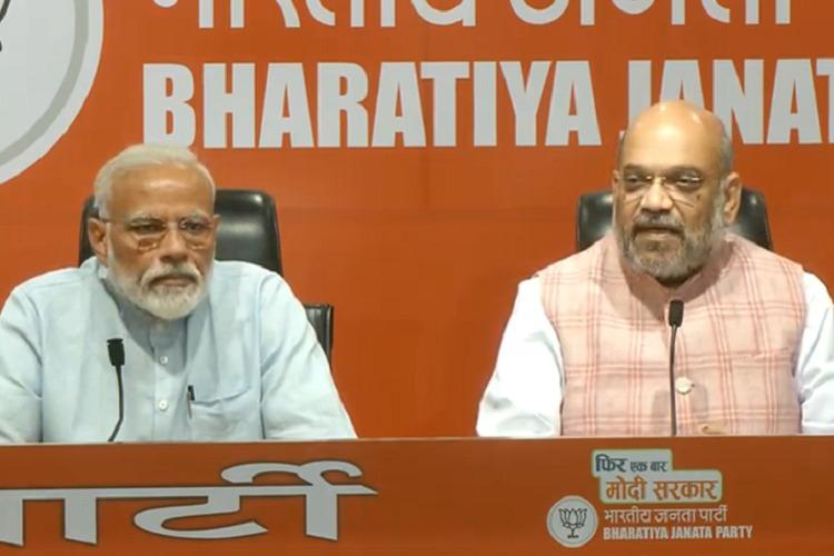 In PM Modi's first presser, Amit Shah holds the fort