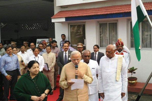 Modi announces Rs 1000 cr additional relief funds for rain-hit Tamil Nadu after survey