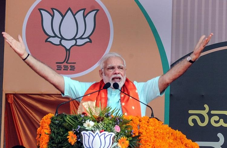 Modi plays Good Cop Bad Cop After praising Deve Gowda asks why waste vote on JDS
