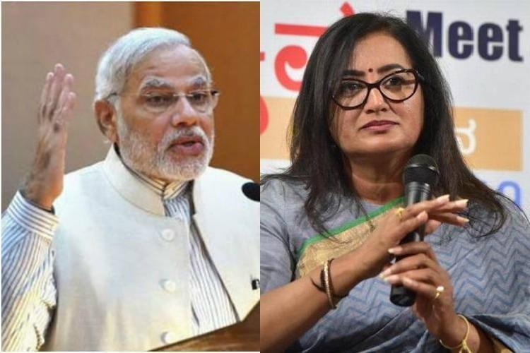 Lok Sabha 2019 Modi backs Sumalatha for Karnatakas Mandya seat