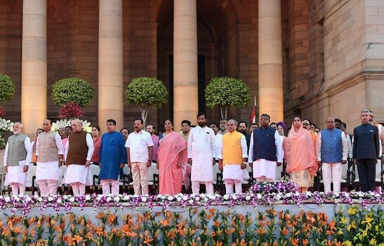 Amit Shah gets Home Nirmala Finance Full list of Modi Cabinet 20