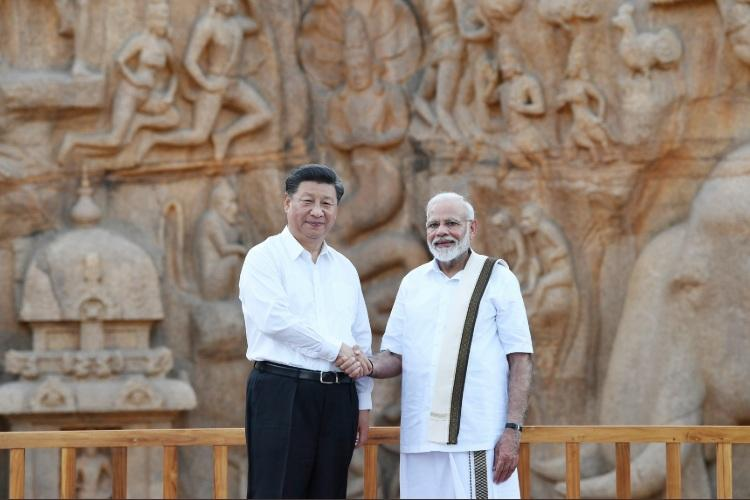 Trade terrorism culture feature in talks on day one of PM Modi-Xi Jinping meet