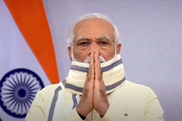 Prime Minister Narendra Modi addresses the nation on Tuesday June 30