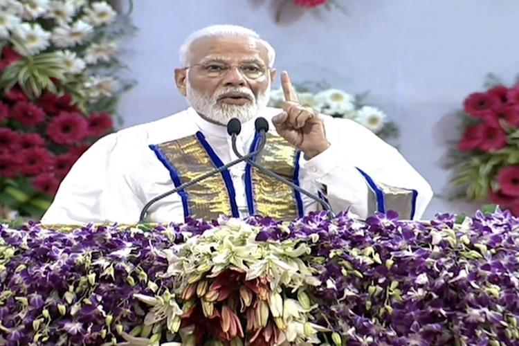 DD Asst Director in Chennai suspended for not live telecasting PM Modis speech at IIT