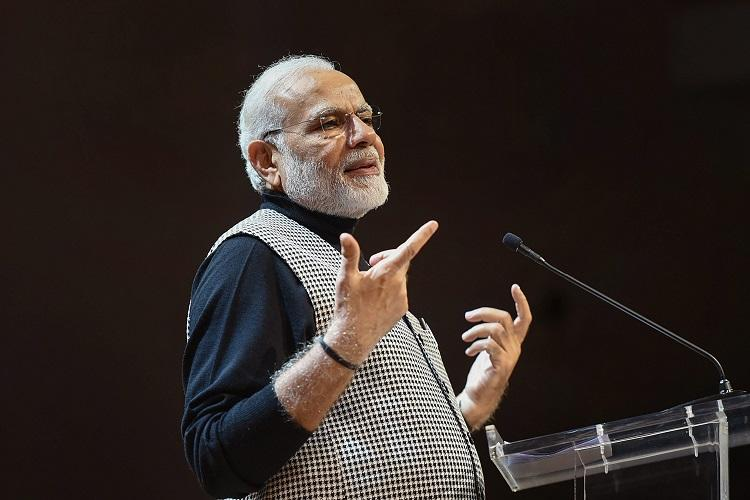Modi rejects Congress charge on unemployment says FDI in India at highest level