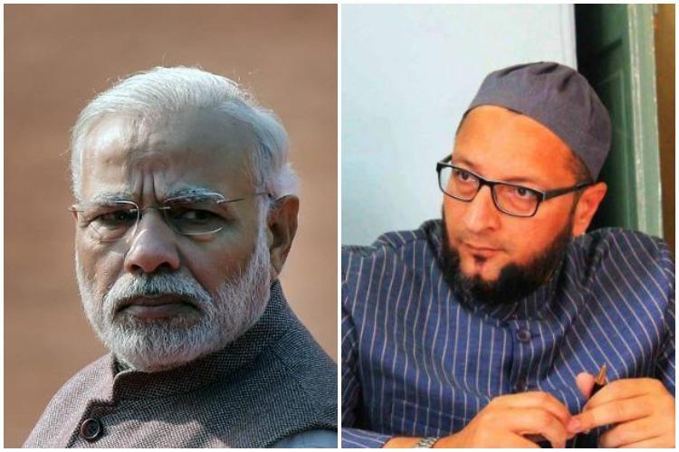 Muslim quota in Telangana Modi terms it act of treason Owaisi hits back