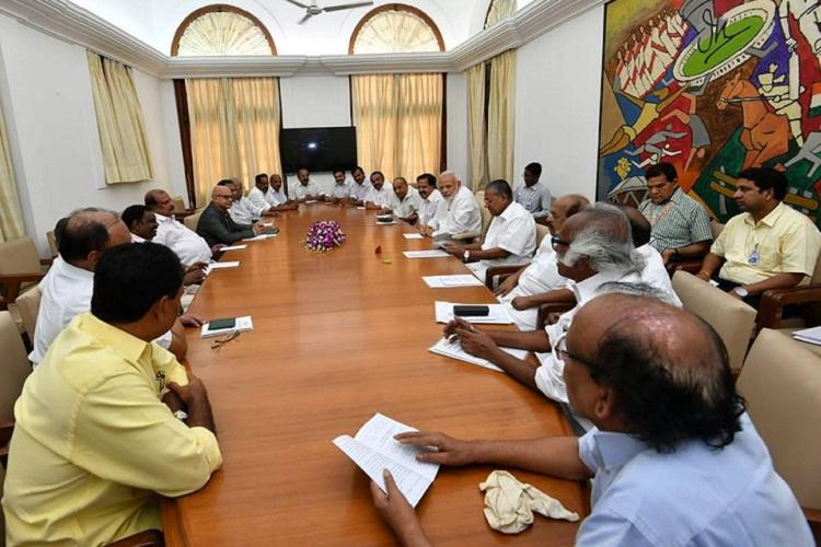 Not a favourable response from PM Kerala CM unhappy after meeting Modi