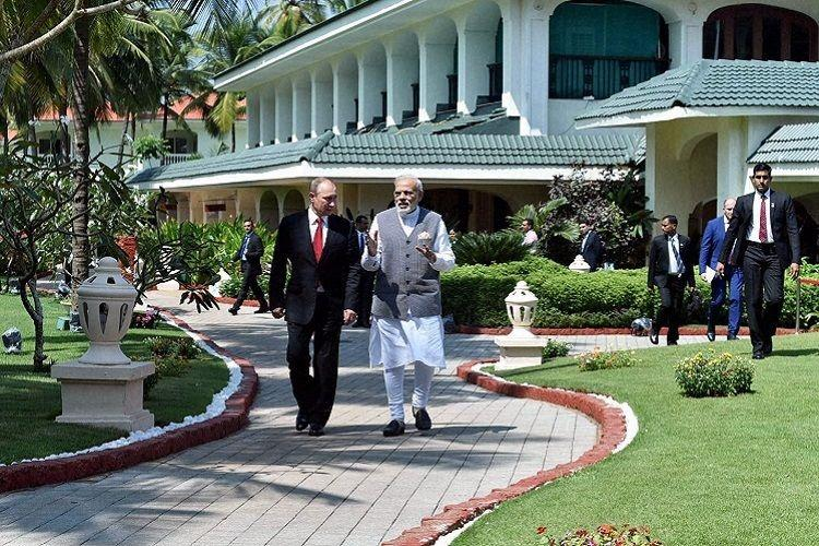 India Russia ink multiple deals on the sidelines of BRICS meet in Goa