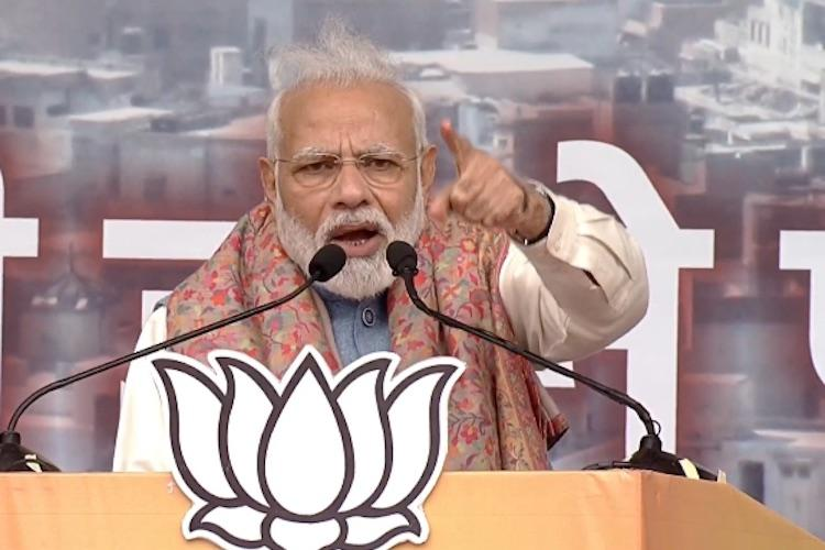 There has been no discussion on nation-wide NRC PM Modi at Delhis Ramlila maidan
