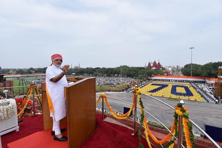 Fact check of Prime Ministers 70th Independence Day speech