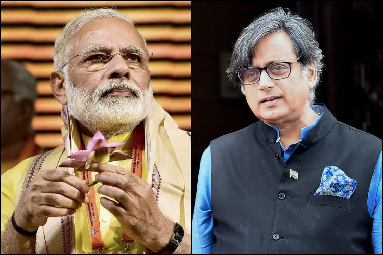 Modis foreign policy is some dynamism more spin Shashi Tharoor