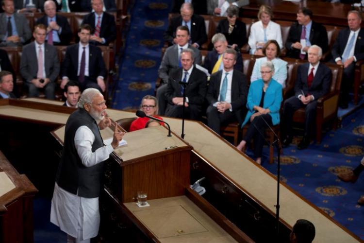 Delink terror and religion Full text of Modis address at US Congress