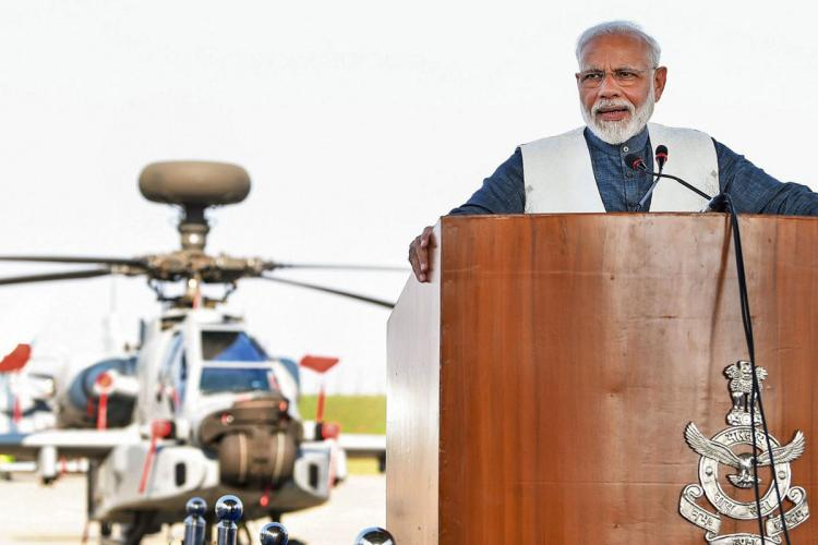 News channel gets notice for allegedly hinting PM will throw money from helicopter