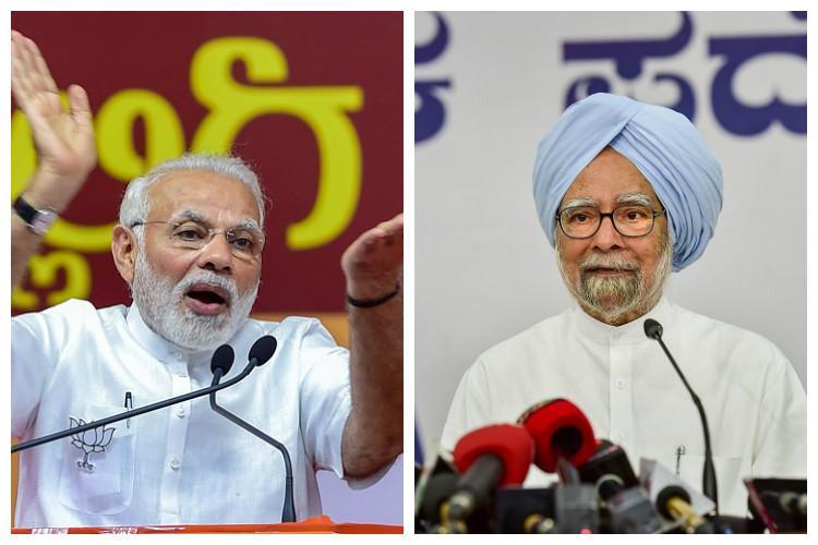 Modis language threatening and unwarranted Manmohan Singh others write to President