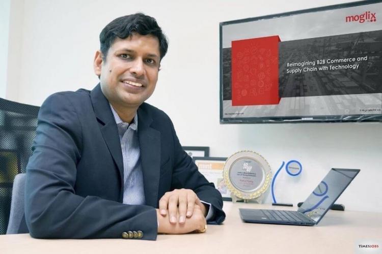 Rahul Garg Founder CEO Moglix