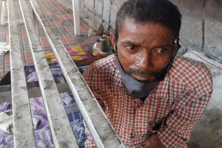 Mohammad Rafiq says he was denied service twice at a GHMC run shelter home