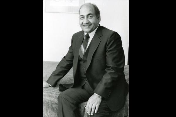 Thank you Mohammed Rafi for delighting us with your music
