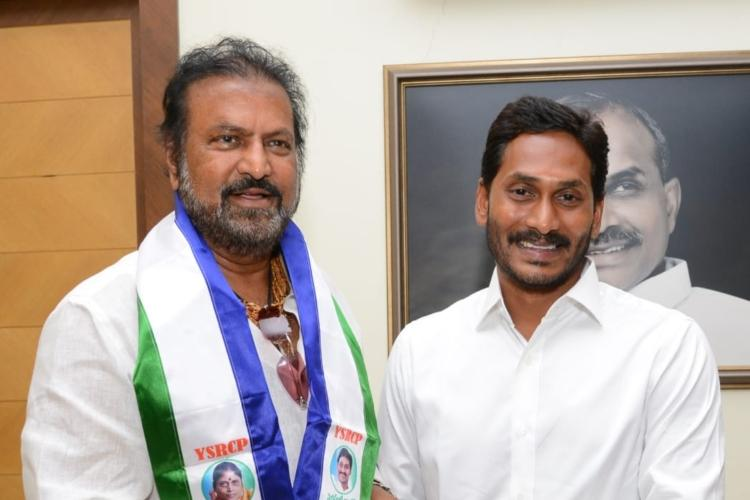 YSRCP will sweep Andhra and Jagan will be CM Mohan Babu joins party